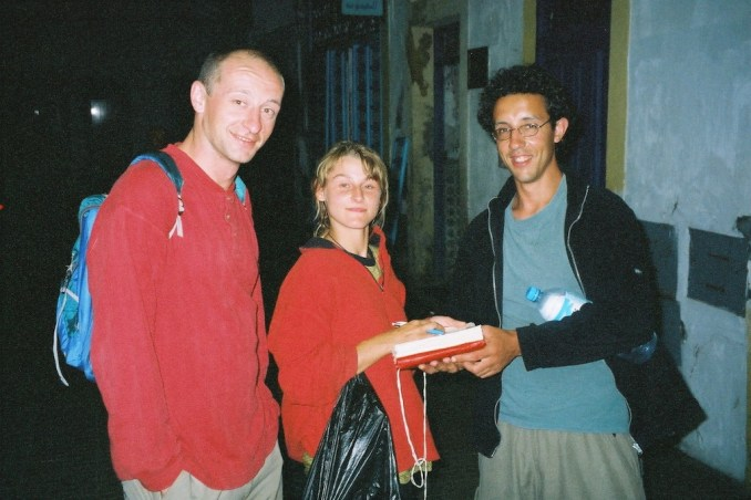 Philou, la belle flamande Katryn et Fernando