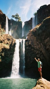 Philou aux cascades d'Ouzoud