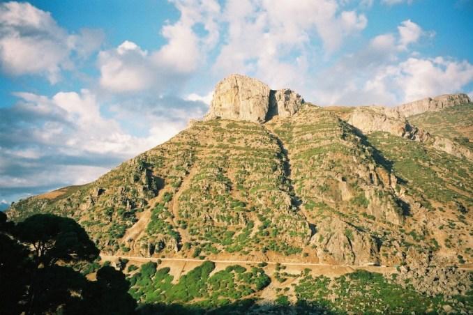 Dans les montagnes du Rif marocain