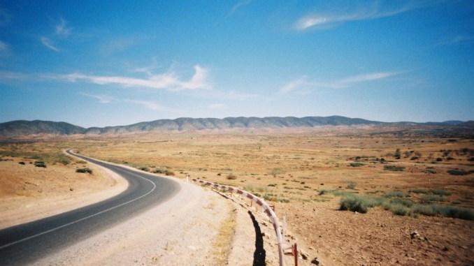 La magnifique route vers Ouzoud