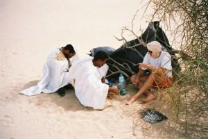 Un thé au Sahara...