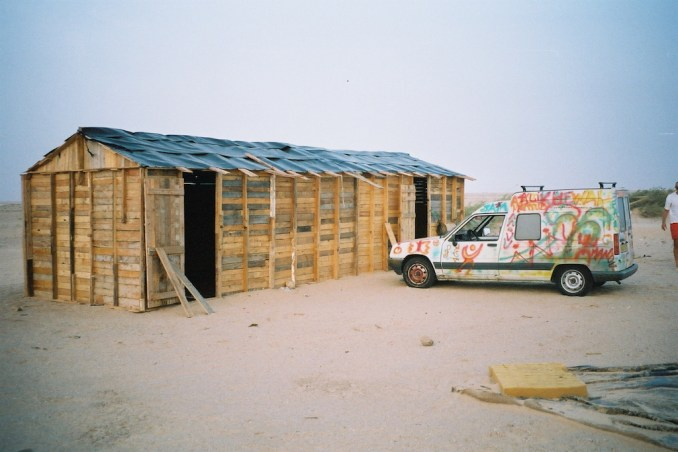 Notre cabane dans le désert...