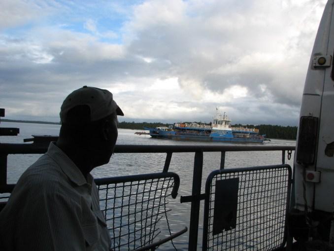 Traversée du fleuve Gambie
