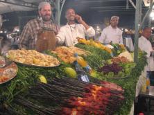 Place Jemaa-el-Fna, les cuisines