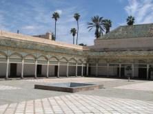 Cour intérieure du palais de la Bahia