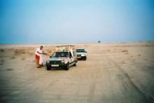 Dans le désert mauritanien