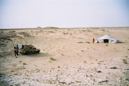 Mauritanie, au milieu de nulle part...