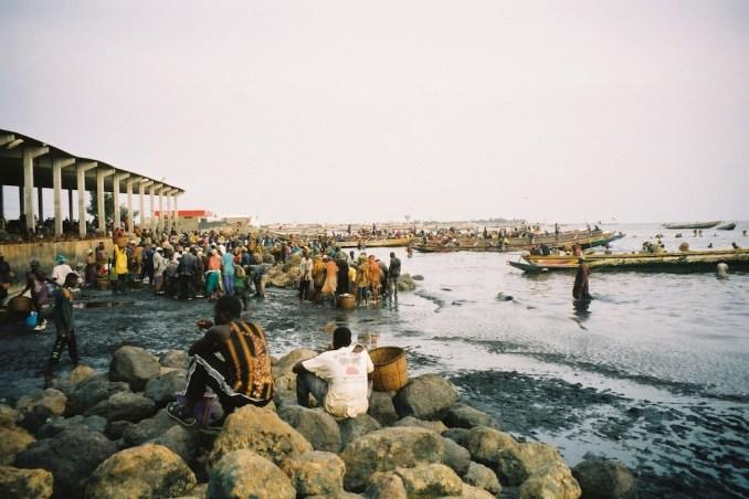 Le port de pêche de Joal
