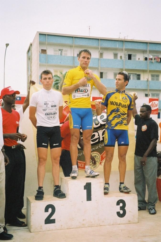 Le podium 2002