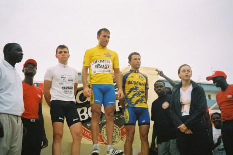 Le podium avec Sindiely Wade