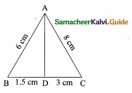 Samacheer Kalvi 10th Maths Guide Chapter 4 Geometry Additional Questions 34