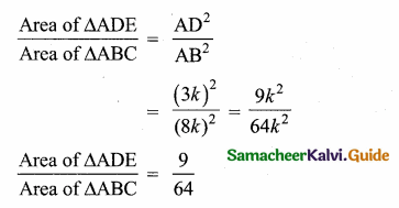 Samacheer Kalvi 10th Maths Guide Chapter 4 Geometry Additional Questions 46