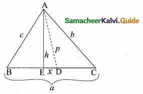 Samacheer Kalvi 10th Maths Guide Chapter 4 Geometry Unit Exercise 4 8
