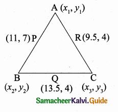 Samacheer Kalvi 10th Maths Guide Chapter 5 Coordinate Geometry Ex 5.1 20