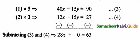 Samacheer Kalvi 10th Maths Guide Chapter 5 Coordinate Geometry Ex 5.4 11