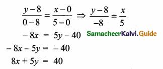 Samacheer Kalvi 10th Maths Guide Chapter 5 Coordinate Geometry Ex 5.5 7