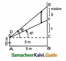 Samacheer Kalvi 10th Maths Guide Chapter 6 Trigonometry Ex 6.2 3
