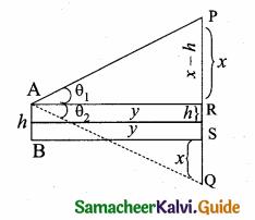 Samacheer Kalvi 10th Maths Guide Chapter 6 Trigonometry Ex 6.4 3