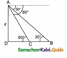 Samacheer Kalvi 10th Maths Guide Chapter 6 Trigonometry Additional Questions 60