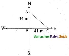 Samacheer Kalvi 10th Maths Model Question Paper 1 English Medium - 9