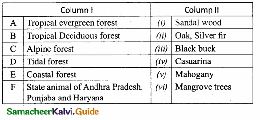 Samacheer Kalvi 10th Social Science Guide Geography Chapter 2 Climate and Natural Vegetation of India 11