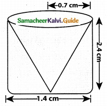 Samacheer Kalvi 10th Maths Guide Chapter 7 Mensuration Additional Questions LAQ 3