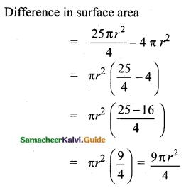 Samacheer Kalvi 10th Maths Guide Chapter 7 Mensuration Ex 7.1 Q8.1