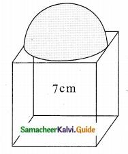 Samacheer Kalvi 10th Maths Guide Chapter 7 Mensuration Ex 7.3 Q6