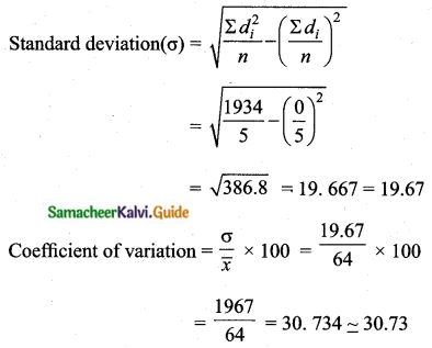 Samacheer Kalvi 10th Maths Guide Chapter 8 Statistics and Probability Additional Questions LAQ 6.4