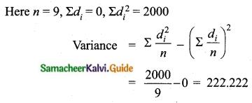 Samacheer Kalvi 10th Maths Guide Chapter 8 Statistics and Probability Ex 8.1 Q5.1