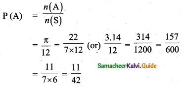 Samacheer Kalvi 10th Maths Guide Chapter 8 Statistics and Probability Ex 8.3 Q13.1