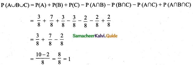 Samacheer Kalvi 10th Maths Guide Chapter 8 Statistics and Probability Ex 8.4 Q12.2