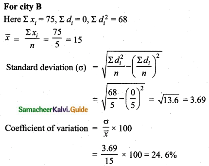 Samacheer Kalvi 10th Maths Guide Chapter 8 Statistics and Probability Unit Exercise 8 Q6.3