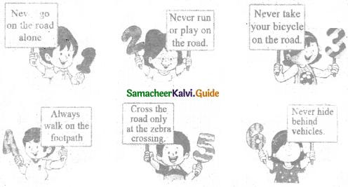 Samacheer Kalvi 6th Social Science Guide Civics Term 3 Chapter 3 Road Safety