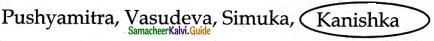 Samacheer Kalvi 6th Social Science Guide History Term 3 Chapter 2 The Post-Mauryan India