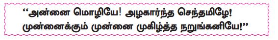 Samacheer Kalvi 10th Tamil Guide Chapter 1.1 அன்னை மொழியை - 1