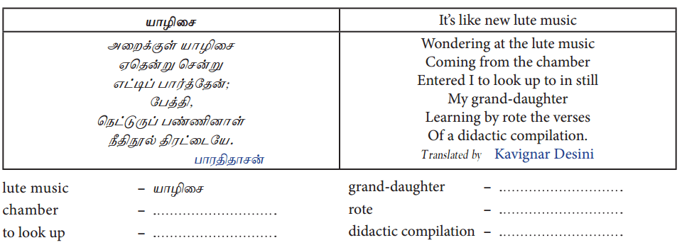 Samacheer Kalvi 10th Tamil Guide Chapter 5.5 வினா, விடை வகைகள், பொருள்கோள் - 6