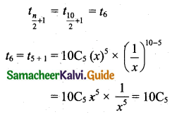 Samacheer Kalvi 11th Business Maths Guide Chapter 2 Algebra Ex 2.7 Q11