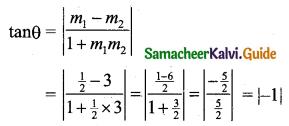 Samacheer Kalvi 11th Business Maths Guide Chapter 3 Analytical Geometry Ex 3.2 Q1