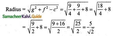 Samacheer Kalvi 11th Business Maths Guide Chapter 3 Analytical Geometry Ex 3.4 Q2.3