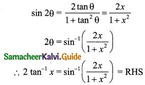 Samacheer Kalvi 11th Business Maths Guide Chapter 4 Trigonometry Ex 4.4 Q2