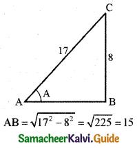 Samacheer Kalvi 11th Business Maths Guide Chapter 4 Trigonometry Ex 4.4 Q9