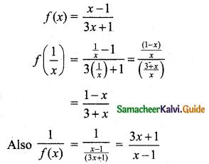 Samacheer Kalvi 11th Business Maths Guide Chapter 5 Differential Calculus Ex 5.1 Q5