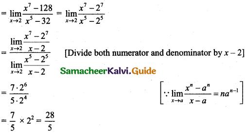 Samacheer Kalvi 11th Business Maths Guide Chapter 5 Differential Calculus Ex 5.2 Q4