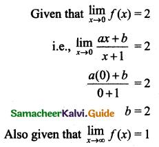 Samacheer Kalvi 11th Business Maths Guide Chapter 5 Differential Calculus Ex 5.2 Q5