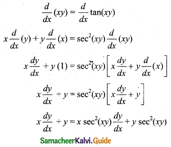 Samacheer Kalvi 11th Business Maths Guide Chapter 5 Differential Calculus Ex 5.6 Q1