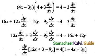 Samacheer Kalvi 11th Business Maths Guide Chapter 5 Differential Calculus Ex 5.6 Q3.1