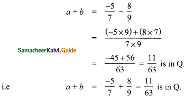 Samacheer Kalvi 8th Maths Guide Answers Chapter 1 Numbers Ex 1.3 1