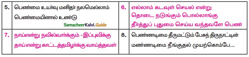 Samacheer Kalvi 9th Tamil Guide Chapter 5.2 குடும்ப விளக்கு - 2
