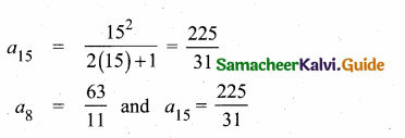 Samacheer Kalvi 10th Maths Guide Chapter 2 Numbers and Sequences Ex 2.4 3